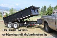 Truck and trailer Kamloops
