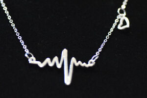 NEW Electrocardiogram Necklace
