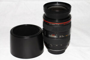 Like New Canon 28-70mm L f2.8 USM with Hood and caps