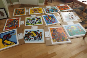 Largest collection of Norval Morrisseau ltd.ed. prints