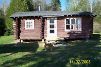 FOR SALE GOGAMA AREA WATERFRONT LOG CAMPS