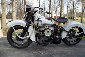 PARTS WANTED for 1945 Harley Davidson WL 45ci Project
