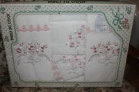 Embroidered Sheets from Portugal