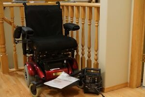 Compass Mid-Wheel Drive Power Wheelchair Strathcona County Edmonton Area image 1
