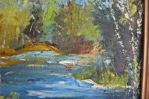 LARGE FERNAND LABELLE OIL PAINTING 20 X 24 inches SIGNED Gatineau Ottawa / Gatineau Area image 2