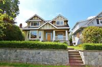 Craftsmen style family sized home in the heart of Kerrisdale!