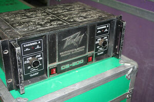 Peavey CS 800 Power amp  1st gen