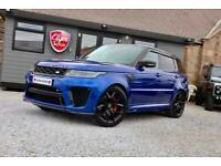 2018 Land Rover Range Rover Sport SVR 5.0 V8 S/C Auto 5dr ( 575 bhp ) ESTATE Pet