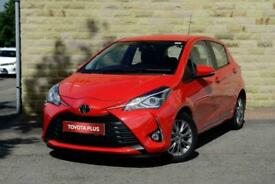 2017 Toyota Yaris 1.5 VVT-i Icon 5dr Petrol red Manual