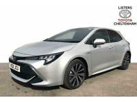 2021 Toyota COROLLA HATCHBACK 1.8 VVT-i Hybrid Design 5dr CVT Auto Hatchback Pet