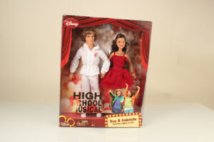 Brand New Disney High School Musical Gabriella & Troy Mattel Dis