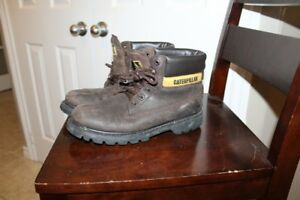Men's leather work boots (no steel toe)