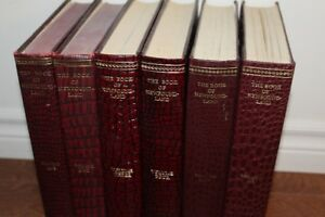 Books of Newfoundland, Volumes 1 through 6.