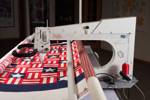 APQS Longarm Quilting Machine DEMO SALE! While quantities last.