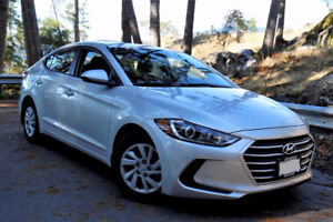 Best Deal in BC 2017 Hyundai Elantra LE 5600km with Warranty