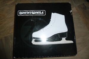 Winnwell figure skates for girls size 4