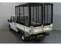 FORD TRANSIT 2.4 350 100 BHP L3 H1 LWB LOW ROOF TIPPER