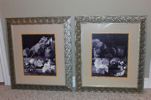 Two pueter framed black & white prints London Ontario image 1