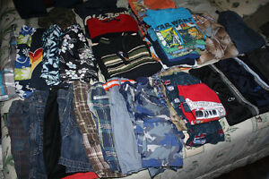 lot of size 5 boys clothes