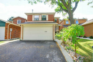 Perfectly Located 3Bdrm + 4Bthrm Home On Cul-De-Sac