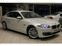 2014 64 BMW 5 SERIES 2.0 520D LUXURY 4D AUTO 181 BHP DIESEL