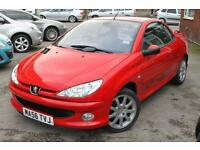 Fantastic Peugeot 206 Convertible - 2 Lady Owners, Leather Seats, JBL Sound Syst