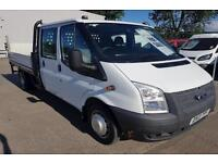 Ford Transit 350 LWB Double Cab Chassis TDCi 125ps DIESEL RWD