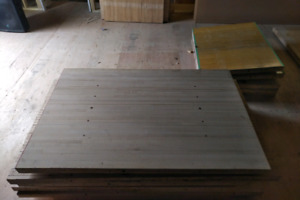 Reclaimed solid maple bowling lanes