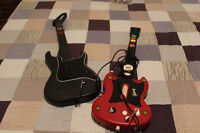 "Playstation ""Guitar Hero"" Guitars for PS2"