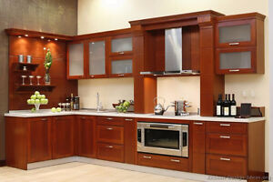 *SOLID WOOD CUSTOM MADE KITCHEN CABINETRY AT THE HALF PRICE *