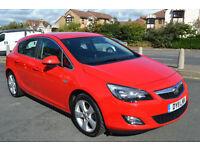 Vauxhall Astra 1.4i 16v VVT SRi 2011 Full Service History 63,000miles