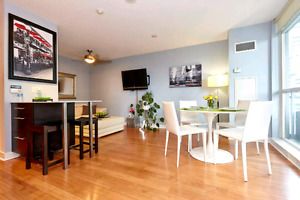 Bright, One Bedroom Modern Condo in the heart of Liberty Village