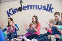 Kindermusik Classes - Ages 0-5 Years