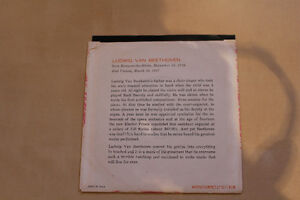 THE LIFE OF BEETHOVEN 45 RPM. RARE AND NEW!! Gatineau Ottawa / Gatineau Area image 2