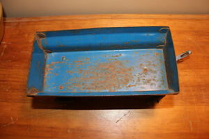 Vintage Tin Toy Farm Wagon - Blue London Ontario image 5