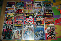 25 comic books Punisher 80's 90's somes are rare