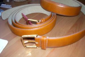 Men's Fine Leather Belts (Extra Large)