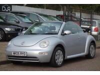 2005 Volkswagen Beetle 1.9 CABRIOLET TDI 2d 99 BHP ELECTRIC HOOD! DIESEL!