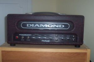 Boutique Tube Guitar amp - Diamond Del Fuego