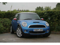 2007 Mini Mini 1.6 ( 175bhp ) Cooper S LOUNGE LEATHER SEATS, AIR CON, XENONS