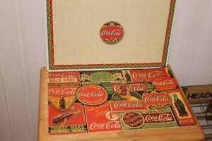 Two Coke Placemats