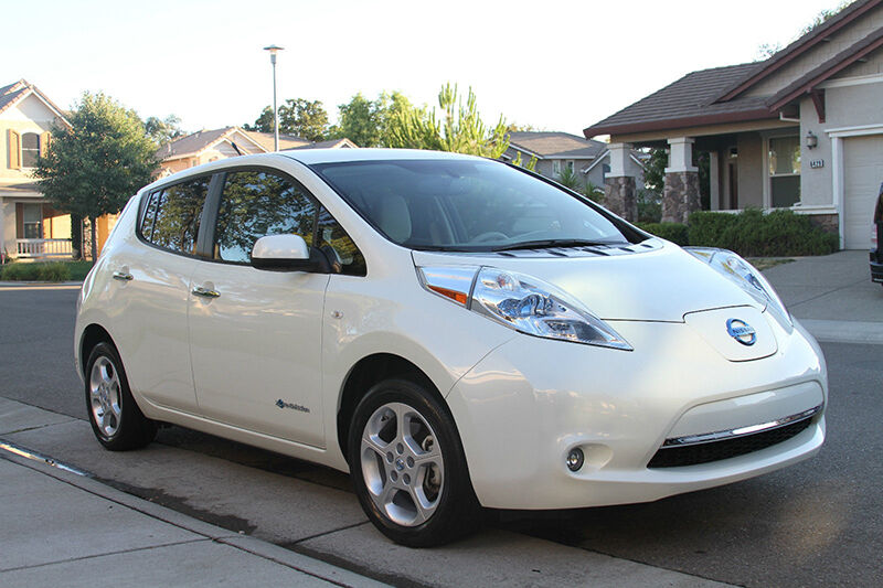 Benefits Of The Nissan Leaf Fully Electric Car Ebay