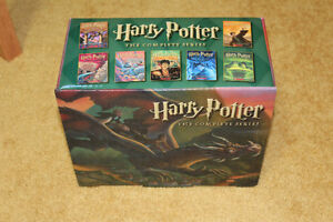 """"""" HARRY POTTER """" BOOKS : THE COMPLETE SERIE !!! ** new **"""