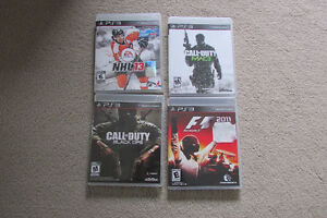 PS3 games - Call of Duty, NHL 13, Formula 1