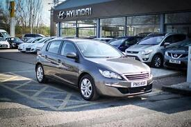 2015 15 PEUGEOT 308 1.6 HDi 115 Active 5dr in Grey