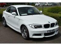 2012 BMW 1 Series 2.0 118D M Sport Coupe Alloys Comfort Pack Parking Sensors Cou