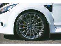 "NEW 18"" FORD FOCUS RS STYLE ALLOY WHEELS X4 BOXED 5X108 MONDEO CONNECT SMAX CMAX"