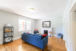 Upgraded Gage Park 1-Bedroom With Hardwood Floors and Balcony