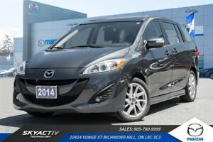 2014 Mazda Mazda5 GT LEATHER*NAVIGATION*7 PASSENGER SEATING