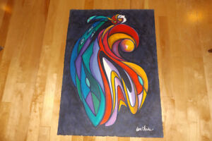 Native Don Chase Original LARGE  acrylic paintings